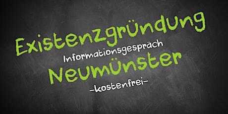 Existenzgründung Online kostenfrei - Infos - AVGS  Neumünster Tickets