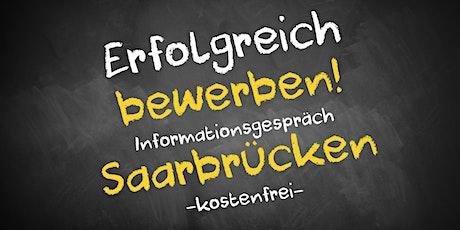 Bewerbungscoaching Online kostenfrei - Infos - AVGS  Saarbrücken Tickets