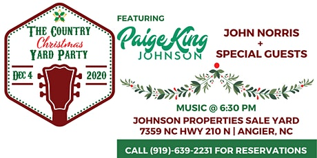 The Country Christmas Yard Party tickets