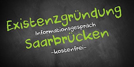Existenzgründung Online kostenfrei - Infos - AVGS  Saarbrücken Tickets