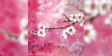 Paint 'Cherry Blossom' tickets