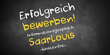 Bewerbungscoaching Online kostenfrei - Infos - AVGS  Saarlouis Tickets