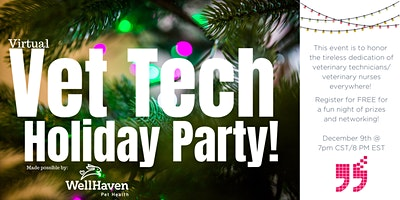 Virtual Veterinary Technician Holiday Party