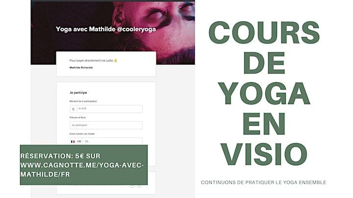 Image pour Yoga Vinyasa Class | 5 €  | En visio Online