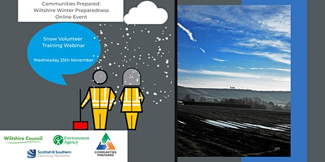 Snow Volunteer: Wiltshire Winter Preparedness Online Event tickets