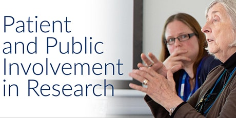 Introduction to Patient and Public Involvement for Researchers Feb 2021 tickets