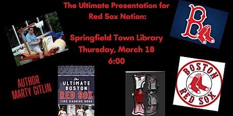 The Ultimate Presentation for Red Sox Nation: biglietti