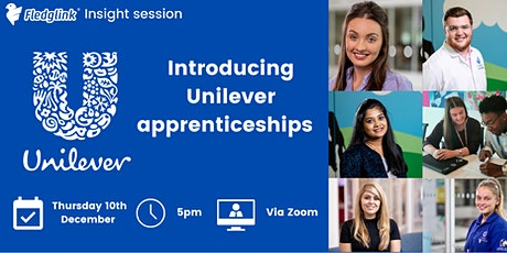 Introducing Unilever apprenticeships! tickets