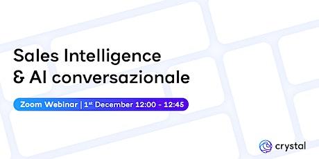 Sales Intelligence e AI conversazionale: andiamo oltre i chatbot biglietti