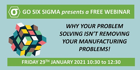 Problem Solving - Why you  aren't solving your manufacturing problems tickets