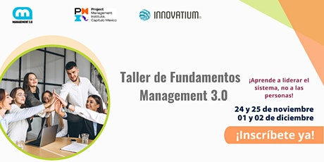 Certificación Fundamentos de Management 3.0, impartido por Innovatium boletos