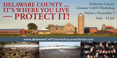 Delaware County Citizens' Factory Farm/CAFO Workshop tickets