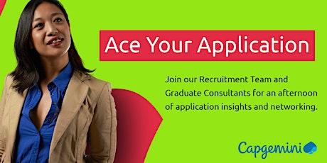 Ace Your Application - Graduate Careers @Capgemini tickets