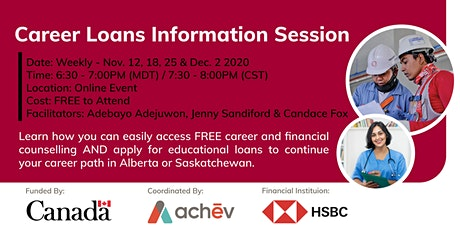 Career Loans Information Sessions tickets