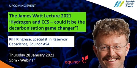 The James Watt Lecture 2021 tickets