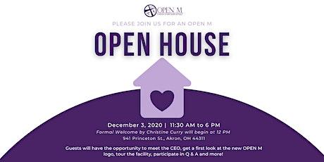 OPEN M Open House tickets