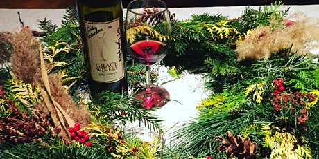 Wine & Wreath Workshop 12:00 tickets