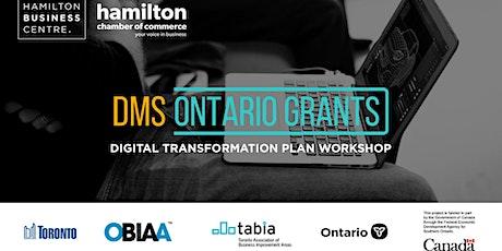 "Digital Main Street Webinar – ""Digital Transformation Plan Workshop"" tickets"