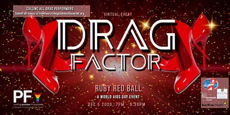 Drag Factor - Ruby Red Ball tickets