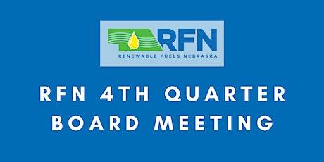 Renewable Fuels Nebraska 4th Quarter Board Meeting Producer Member tickets