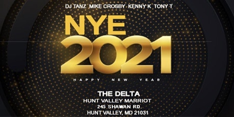 NYE 2021 tickets