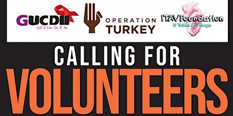 Operation Turkey Philadelphia:  Prep & Clean up Team Sign up (Volunteers) tickets
