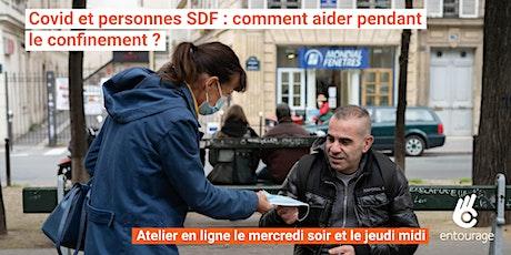 COVID et confinement : 1h pour savoir comment aider les personnes SDF billets