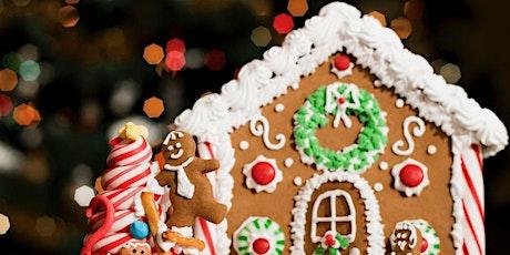 Gingerbread House Workshop Dec. 19 tickets