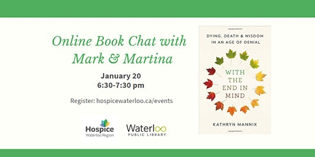 Online Book Chat with Mark and Martina tickets
