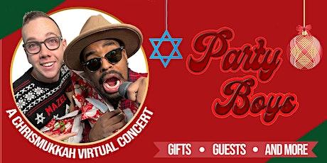 PARTY BOYS CHRISMUKKAH Virtual Concert tickets