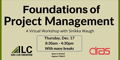 ILC - Foundations of Project Management Virtual Workshop tickets