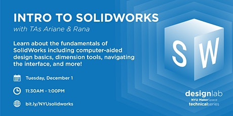 Intro to Solidworks tickets