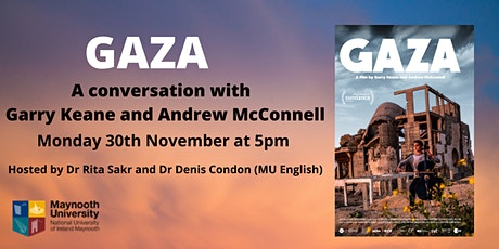 Gaza: A conversation with Garry Keane and Andrew McConnell tickets