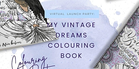My Vintage Dreams Colouring Book  Launch Tea Party tickets