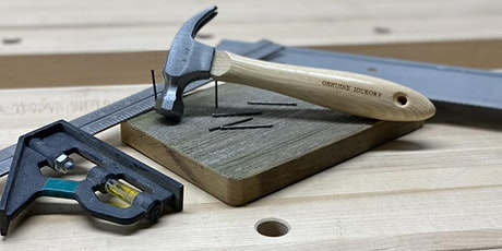 Free-Form Tinkering with Hand Tools- Morning Class tickets