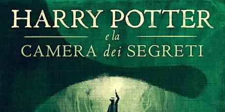 Gruppo di lettura per Harry Potter e la camera dei segreti biglietti