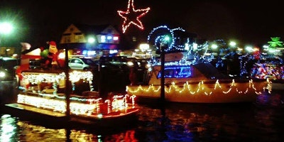 Freeport Nautical of Lights Annual Boat Parade on