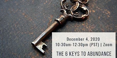 The Six Keys to Abundance tickets