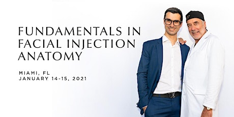 Fundamentals in Facial Injection Anatomy w Dr. Swift and Professor Cotofana tickets