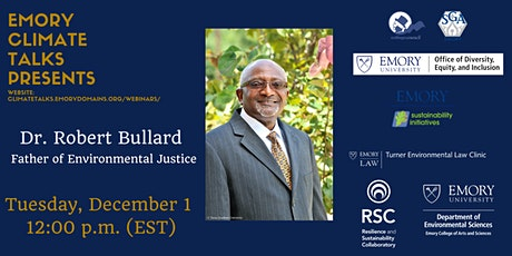 Dr. Robert Bullard, Father of Environmental Justice tickets