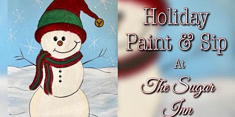 Holiday Paint & Sip at The Sugar Inn tickets