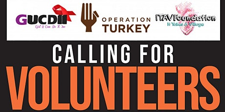Operation Turkey Philadelphia:  Runners Sign up (Volunteers) tickets