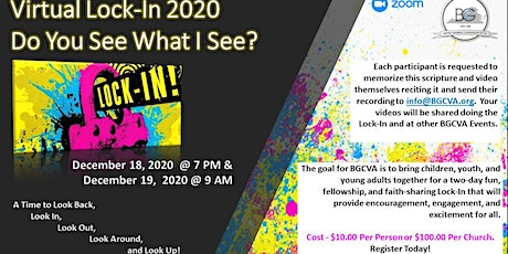 Virtual Lock-In 2020 tickets