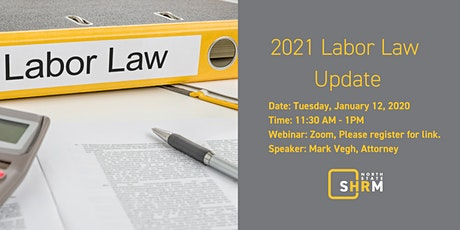 2021 Labor Law Update tickets