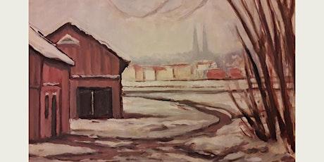 Utställning - målningar av framlidne Uppsalakonstnären Bertil Rundblad biljetter