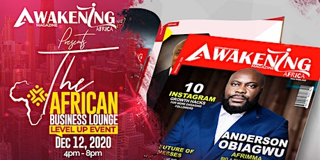 The African Business Lounge Level Up Event tickets