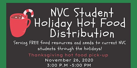 Napa Valley College Student Food Basket Thanksgiving Hot Meal Drive Thru tickets