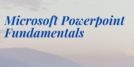 Microsoft Powerpoint Fundamentals tickets