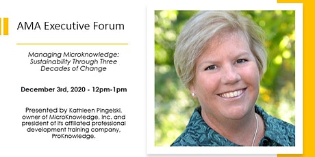 Managing Microknowledge: Sustainability Through Three Decades of Change tickets