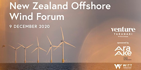 The New Zealand Offshore Wind Forum tickets